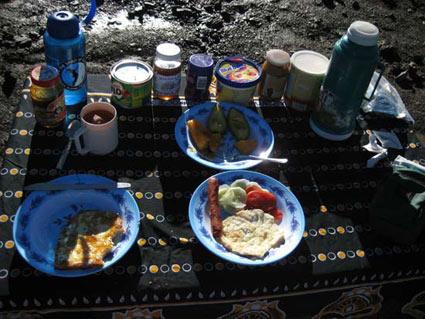Another brilliant Kilimanjaro breakfast