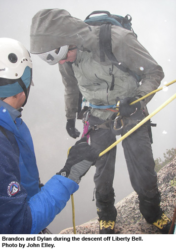 alpine climbing training in washington pass